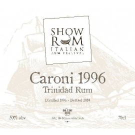 CARONI TRINIDAD RUM 1996 70 cl - SHOWRUM 2014 LIMITED EDITION