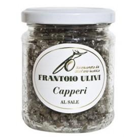 Capperi soto sale Frantoio ulivi di Liguria 140 gr