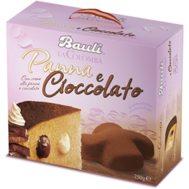 Colomba Panna e Cioccolato Bauli 750 gr