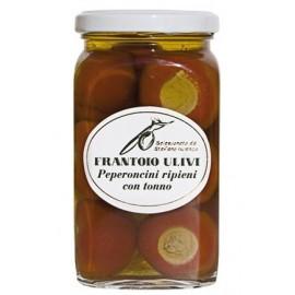 Peperoncini ripieni in olio di oliva Frantoio Ulivi di Liguria 290 gr