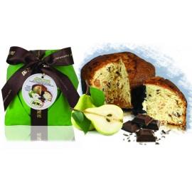 Panettone Pera e Cioccolato De Mori 500 gr