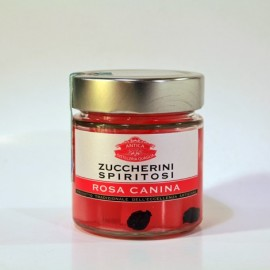 Zuccherini Spiritosi Rosa Canina antica distilleria Quaglia