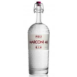 Marconi 46 DRY GIN della Distilleria Poli 70 cl