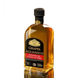 Grappa Aglianico Affinata in Pero Antica Distilleria Quaglia 70 cl