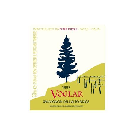 """Sauvignon """"VOGLAR"""" d.o.c. Peter Dipoli 75 cl"""