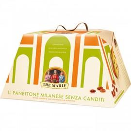 Panettone Senza Canditi Tre Marie 1kg