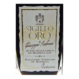 """Aceto balsamico di modena i.g.p. """"Sigillo oro"""" Pedroni 250 ml"""
