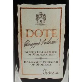"""Aceto balsamico di modena i.g.p. """"Dote"""" Pedroni 250 ml"""