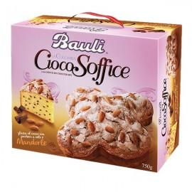 Colomba Ciocosoffice glassa alle mandorle Bauli 750 g