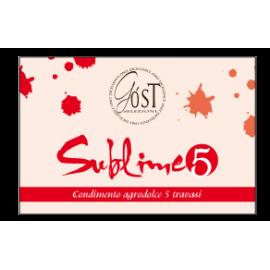 """Condimento balsamico dolce """"Sublime 5"""" Selezioni Góst 100 ml"""