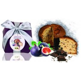 Panettone Fichi e Cioccolato De Mori 500 gr