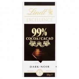 Tavoletta exellence 99% cacao 50 gr Lindt