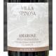 """Amarone della Valpolicella 2010 D.O.C.G. """" Albassini"""" Villa Spinosa 75 cl"""