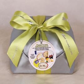 Panettone Limoncello Cioccolato Bianco De Mori 500 gr