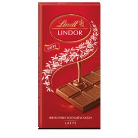 Tavoletta Lindor Latte 100 gr Lindt