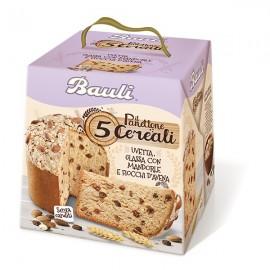 Il panettone a 5 cereali Bauli 750 gr