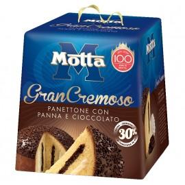Grancremoso Panettone con panna e cioccolato Motta 800 gr