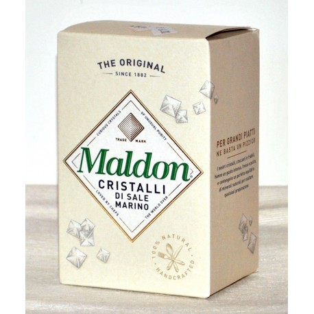 Cristalli di sale marino Maldon 125 gr