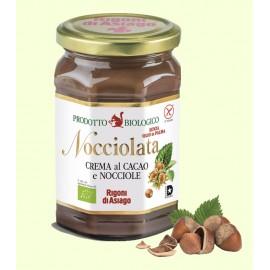 "Crema bio al cacao e nocciola ""Nocciolata"" 270 gr - Rigoni di Asiago"