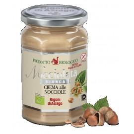 "Crema bianca alla nocciola ""Nocciolata"" Rigoni di Asiago 350 gr"