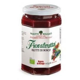 Confettura bio Frutti di bosco Fiordifrutta Rigoni di Asiago 250 gr