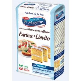Farina + Lievito Le farine Magiche 1000 gr