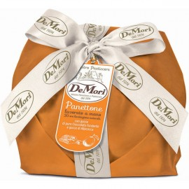 Panettone Cioccolato e Albicocca De Mori 500 gr