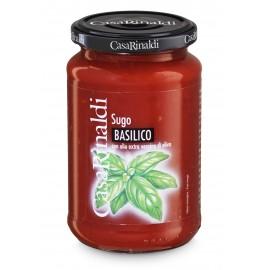 Sugo al Pomodoro e basilico 350 gr - Casa Rinaldi