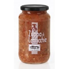 Zuppa di lenticchie 550 gr - Casa Rinaldi