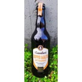 Birra bionda doppio malto 50 cl- I Cavalieri