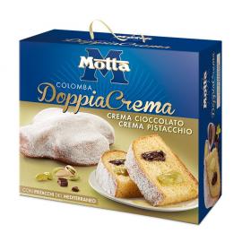 Colomba DoppiaCrema Cioccolato e Pistacchio Motta 700 gr