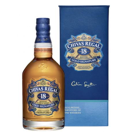 """Blended Scotch Whisky """"Gold Signature"""" 18 years old 70 cl - Chivas Regal"""