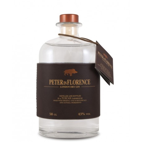 """London Dry Gin """"Peter in Florence"""" 50 cl - Peter in Florence"""