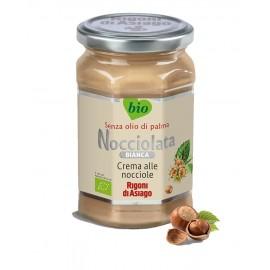 "Crema bio bianca alla nocciola ""Nocciolata"" 350 gr - Rigoni di Asiago"