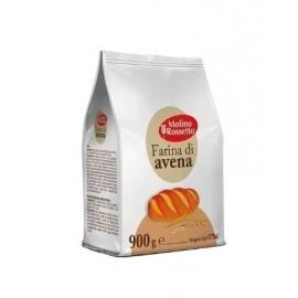 Farina di avena 900 gr - Molino Rossetto
