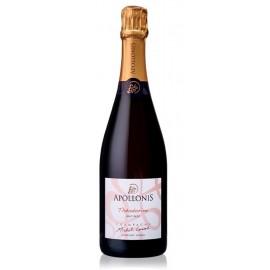 Champagne brut Théodorine Rosé 75 cl - Apollonis