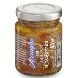 Filetti di acciughe con peperoncino 95 gr - Casa Rinaldi
