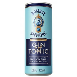 Gin & Tonic 25 cl - Bombay Sapphire