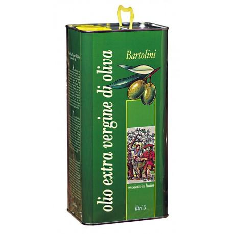 Olio extra vergine di oliva classico tanica 5lt - Frantoio Bartolini