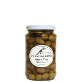 Olive nere taggiasche in salamoia Frantoio Ulivi di LIguria 200 gr